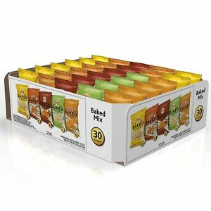 Frito Lay Oven Baked Chips and Snacks Variety Pack 30 ct.