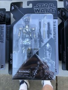 Star Wars Black Archives 6 Inch IG 88 Mint On Card