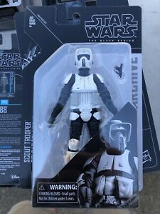 Star Wars Black Archives 6 Inch Scout Trooper Mint On Card