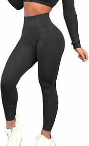 FITTOO Women's Seamless Leggings Ankle Yoga Pants Tummy Control Running Workout