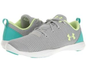 New Under Armour Little Girls' Street Precision Athletic Shoes Size 13k $30.00