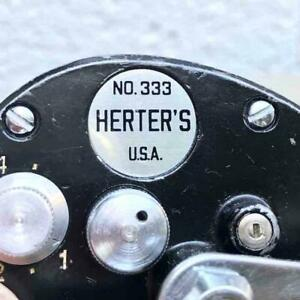 Herters 333 Ocean City 1950 Direct Reel
