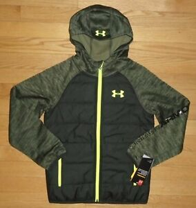 Under Armour Boys Day Trekker Jacket Lightweight Hoodie YSM 7 8 NWT $29.99