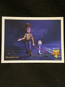 Toy Story 4 Lithograph DIsney Movie Club Exclusive $8.00