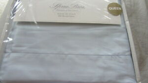 SFERRA ALLEGRO Sheet Set Queen 600TC 100%  Cotton SATEEN Italy $1080 Blue