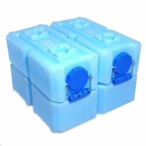 WaterBrick Stackable Water Food Storage Containers 3.5 Gal. W Handles