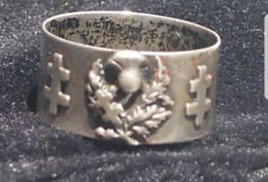 Rare Silver Pass Ring