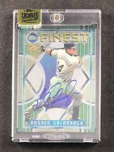 Andres Galarraga 2016 Topps Archives Signatures Series All Star Autograph 10 SP