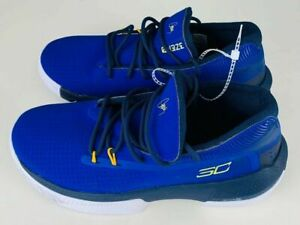 Under Armour Boys Shoes Sneakers Curry SC 3ZERO Blue New W Box 5.5 $34.50