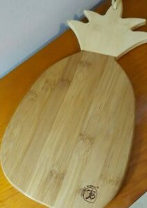 Totally Bamboo - Pineapple Board Pineapple Bamboo Cutting & Serving Board