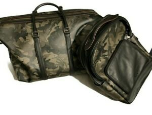 Coach Camouflage Duffle and Backpack Sold as a Set Both are NWT Retail $1290