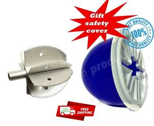 NEW ODIRIS COCONUT GRATER HEAD / BLADE SCRAPER HEAD SHREDDER HEAD free head cove