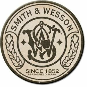 Smith & Wesson Since 1852 Gun Rights Tool Box Bumper Sticker Vinyl Decal