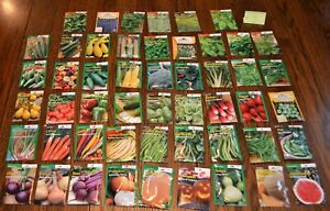 Seeds for you! 51 Packets of Vegetable - Burpee and more!