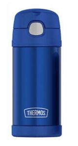 NEW Thermos FUNtainer Blue Water Bottle  - 12 OZ FREE SHIPPING