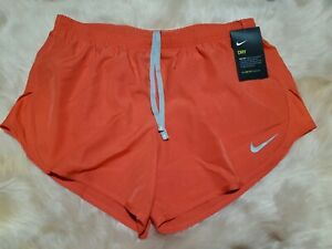 Nike Women's Dry Mod Tempo EMB Running Shorts Size SMALL NWT Dry Fit Short $34.00
