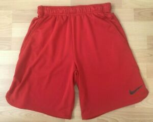 Nike Red Dri Fit Athletic Shorts Mens Size Small $9.00