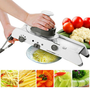 Mandoline Slicer Vegetable Cutter Grater With Adjustable adjustable Blades