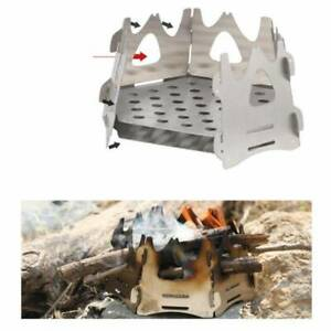 Portable Folding Lightweight Wood Burning Camping Stoves Hexagon For Outdoor