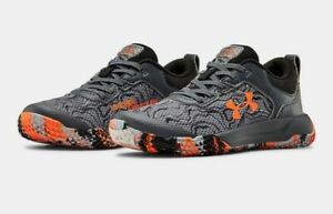 New Under Armour PS Mainshock 2 AL Little Boys Running Shoes size 11k $35.00