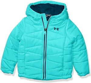 NEW Under Armour Storm Girls BLUE Hoodie UA Prime Puffer Jacket SIZE XL YOUTH $24.69