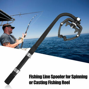 Protable Fishing Line Spooler Reel Winder Line Spooling Station System Machine