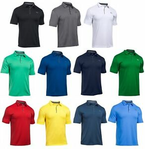 Under Armour UA Tech Polo Mens Golf Shirt 1290140 2020 FREE SHIPPING $29.45
