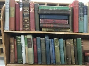 Lot of 10 Antique Collectible Vintage Old Rare Hard To Find Books *MIX UNSORTED* $21.49