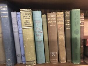Vintage antique Books Lot of 10 Random unsorted mixed wholesale crafts $26.99