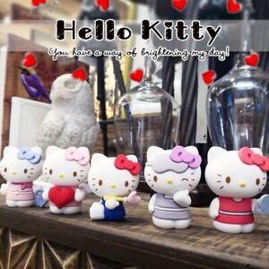NEW 6Pcs Set Hello kitty Anime action figure collection PVC Toys Gifts US Seller