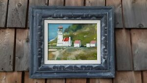 Haceta Oregon Lighthouse Oil By Jonathan Short $225.00