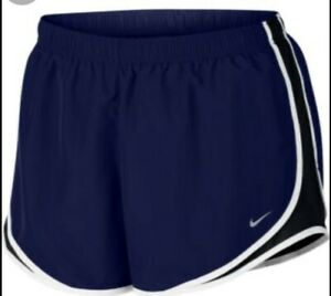 NWT Women's Nike Tempo Dri Fit Running Athletic Shorts Plus Size 2X Dark Blue $21.99
