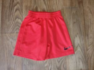 Nike Dri Fit Boys Size XS 3 4 Years Red Athletic Shorts $5.40
