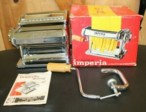 mperia SP 150 ~ Pasta Maker ~ Noodle Chef ~ Made in Italy ~ With Box
