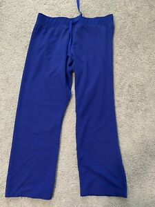 Figs Livingston Dark Royal Blue Pants Size LP (PETITE)