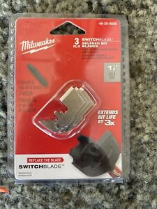 Milwaukee 48 25 5525 SWITCHBLADE Replacement Blades 1 1 2quot; 3 Pack