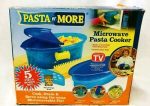 As Seen On TV Pasta N' More Microwave Pasta Cooker NEW Open Box  (500)