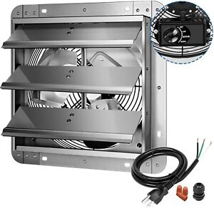 iPower 3Speed 12Inch Shutter Variable Exhaust Fan Aluminum with Build Controller $66.99