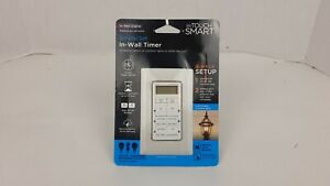 New My Touch Smart Simple Set In-Wall Digital Timer 25055