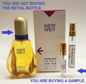 New West Skinscent for Her by Aramis 1000% AUTHENTIC Perfume SAMPLES $24.95