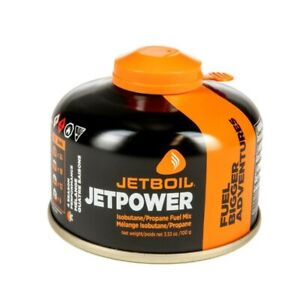NEW Jetboil Jetpower Fuel 3.53 oz. 100g Camping Fuel Gas Canister JF100