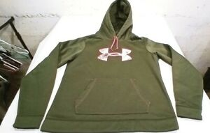 Under Armour Storm Coldgear Realtree Semi Fitted Women's Size Large Hoodie $19.00