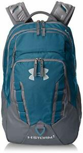 Under Armour STORM RECRUIT BACKPACK 1261825 color code 953NWT BLUE GRAY 33L $54.99