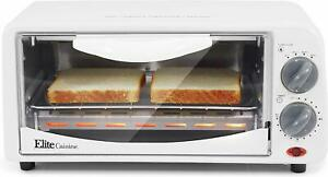 ELITE CUISINE ETO 224 TWO SLICE TOASTER OVEN WITH BROILER ***FREE SHIPPING***