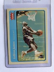 Lebron James 2004 05 Fleer Tradition #140 BLUE RARE NEEDS GRADED MINT