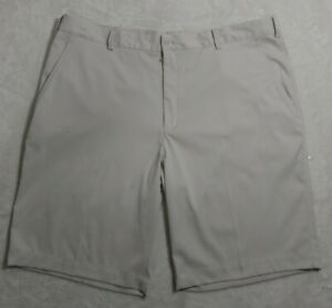 Nike Golf Dri Fit Mens Flat Front Golf Shorts Size 40 Beige 10.5 Inseam NWOT. $19.50