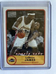 Lebron James 2003 04 BAZOOKA ROOKIE #223 NICE NEEDS GRADED MINT #2