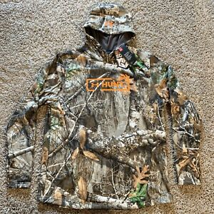 NEW Under Armour UA Hunt Mens Realtree Edge Camo Hoodie Size XL $49.99
