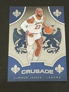 2019 20 Chronicles Crusade #522 LeBron James Lakers