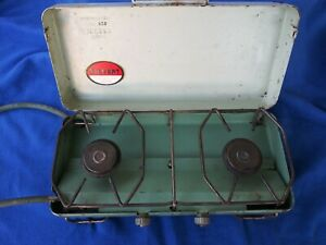 RARE SIEVERT TYPE 926 DOUBLE BURNER PROPANE CAMPING STOVE Model 926 Camp Stove